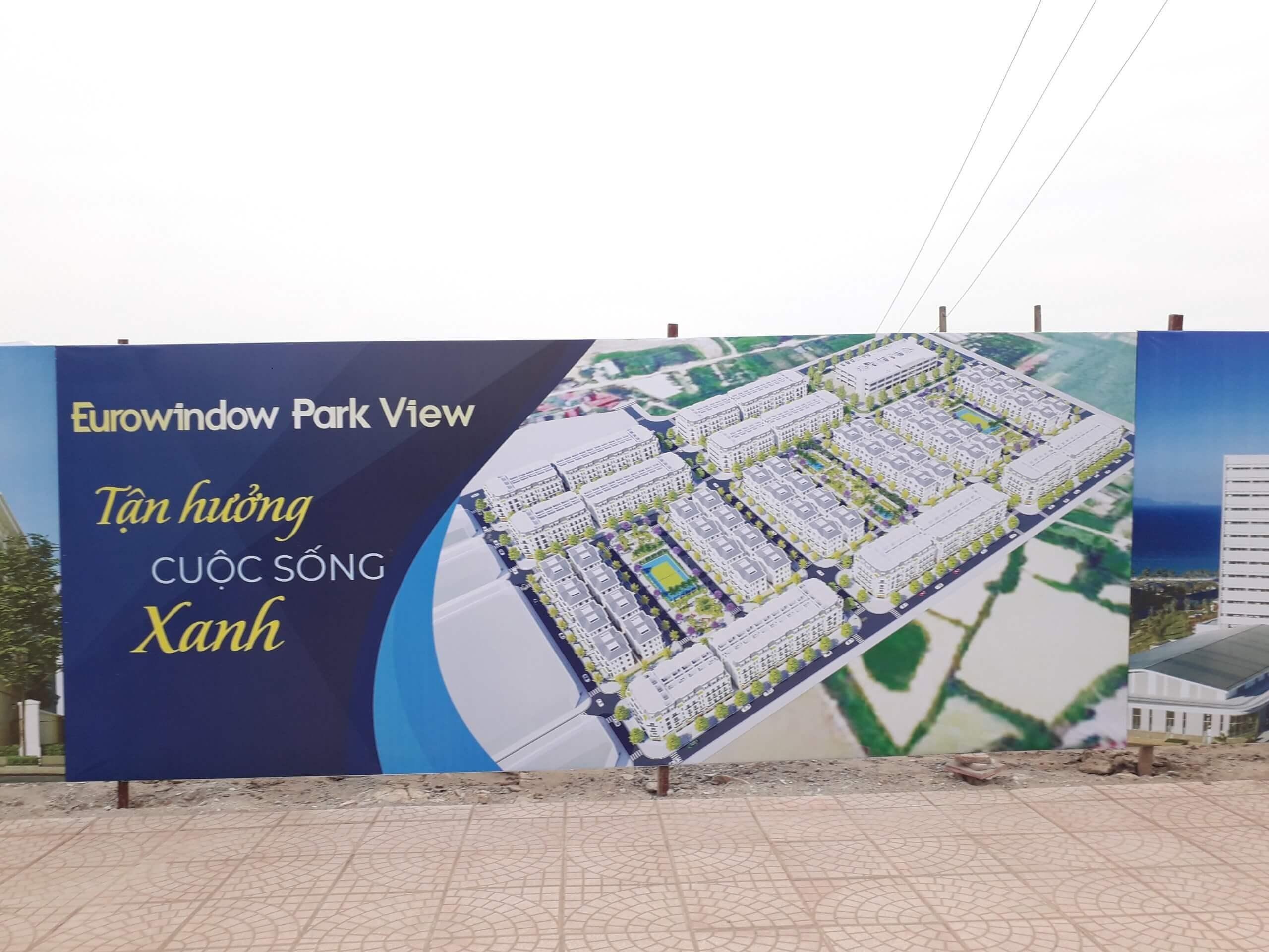 Hiện trạng tiến độ Eurowindow Park View Trâu Quỳ Gia Lâm.
