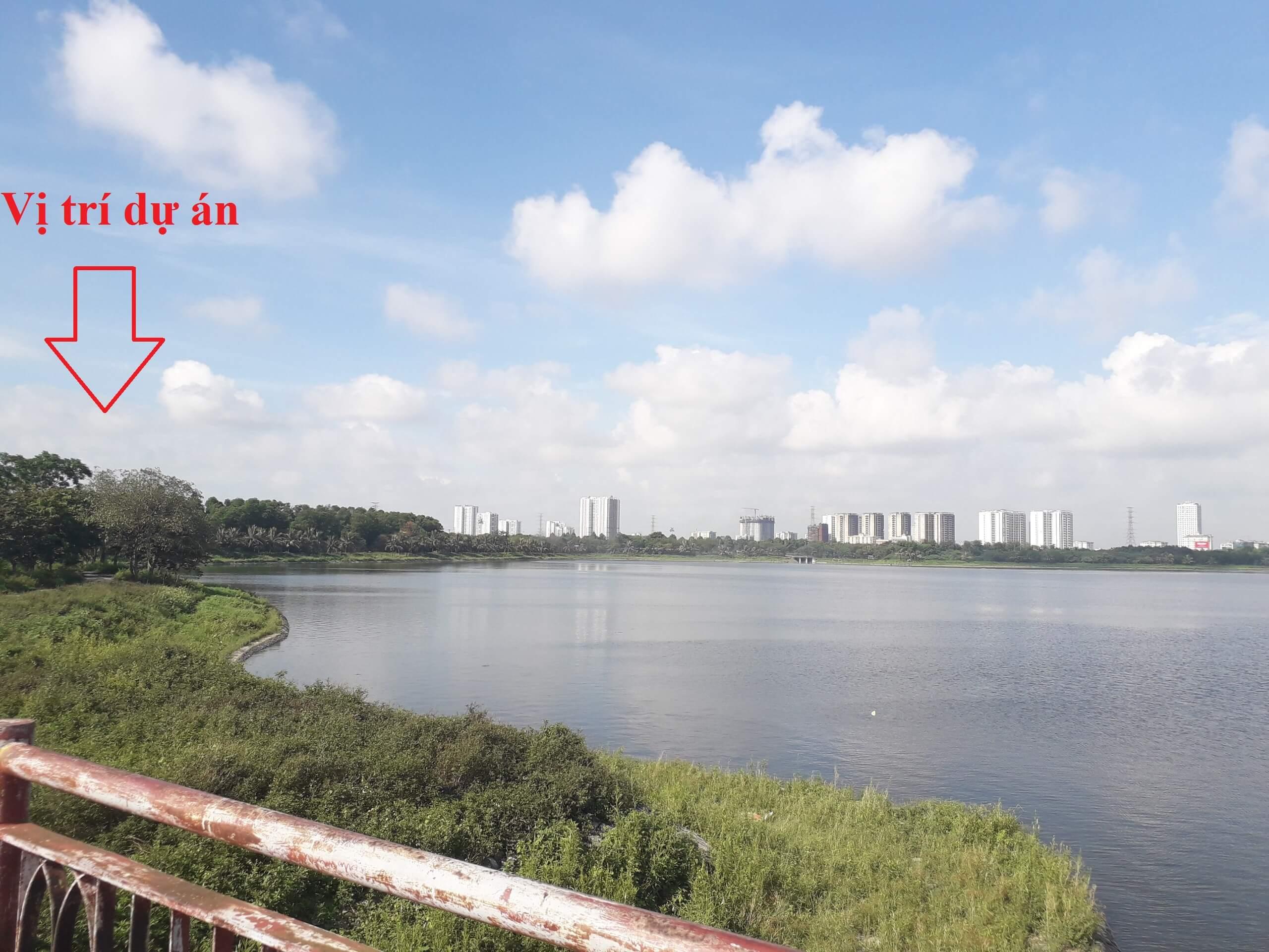 Vị trí chung cư Eurowindow Yên Sở - Hoàng Mai.