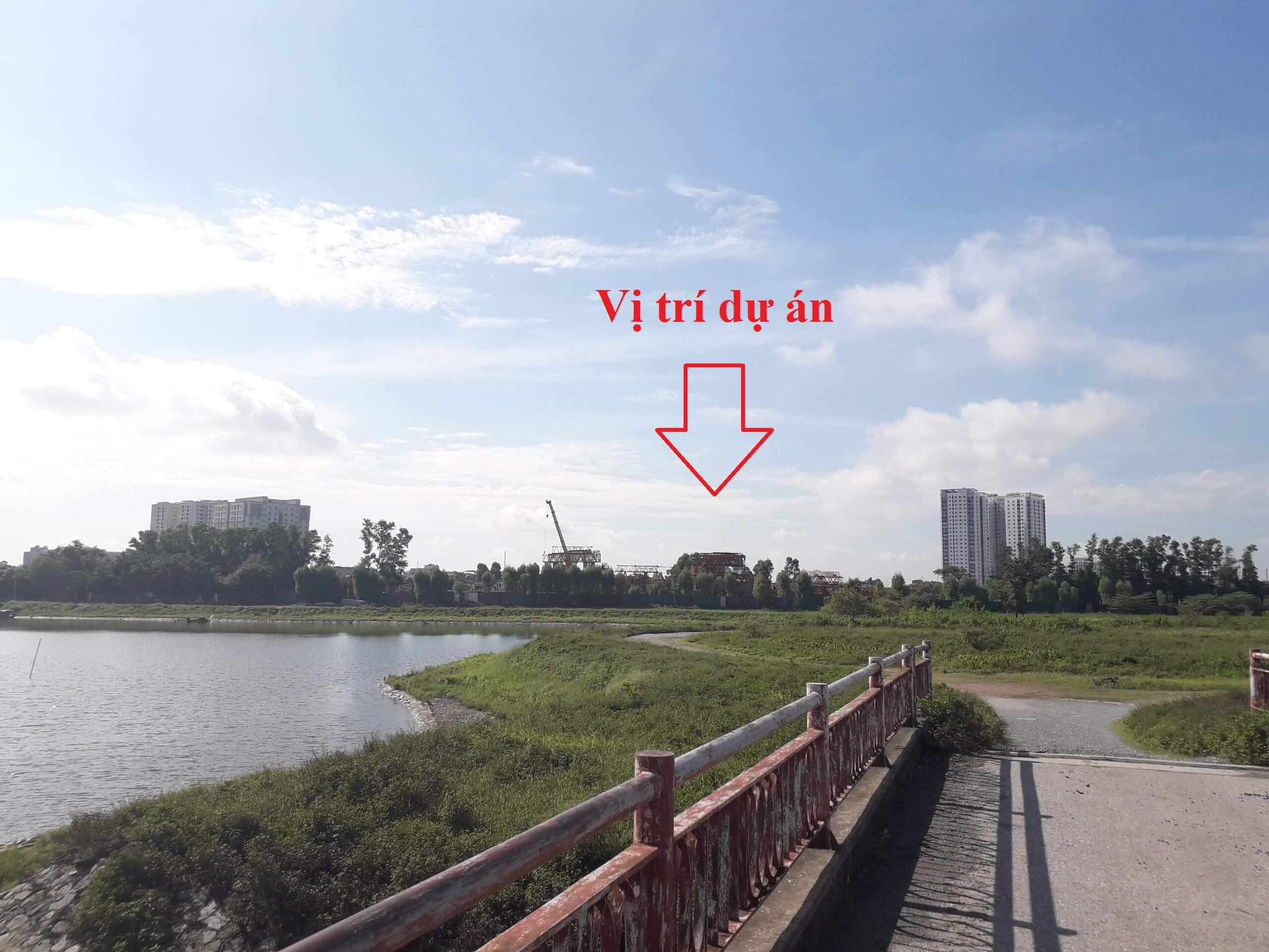 Vị trí NOXH Eurowindow Hoàng Mai - Yên Sở.