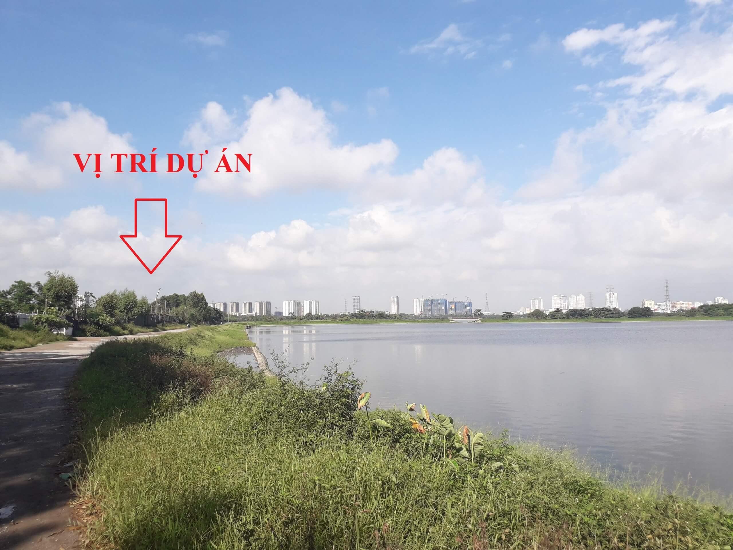 Vị trí dự án Eurowindow Yên Sở - Hoàng Mai.