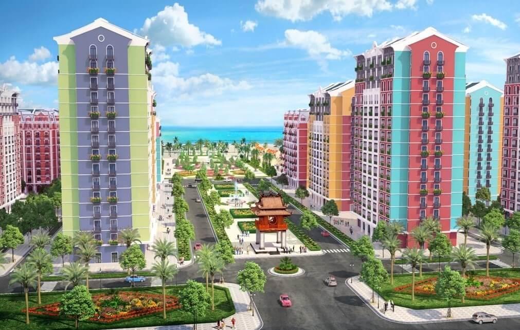 Các Hotel, Condotel tại Wonder City Vân Phong Bay.