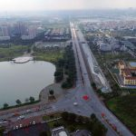 Đường Đoàn Khuê nối từ Vinhomes Riverside đến trung tâm hành chính quận Long Biên. Đường thông xe năm 2013 với vốn đầu tư khoảng 1.000 tỷ đồng.