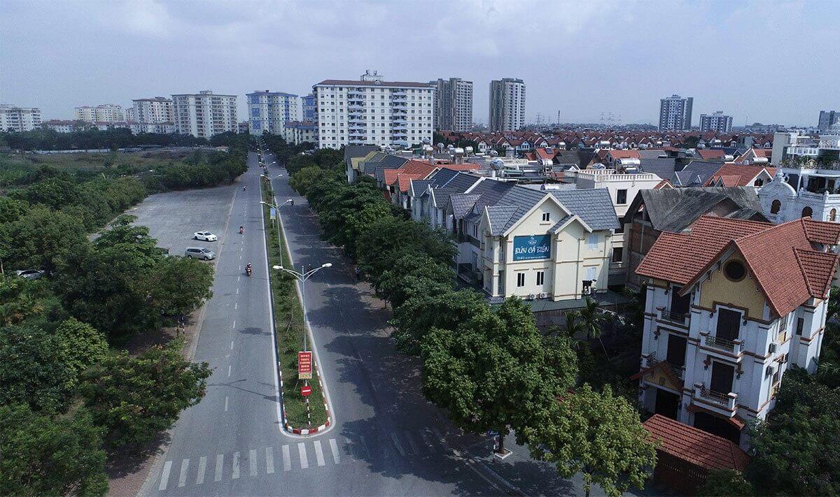 Tuyến đường dài 2,8km,rộng 21m nối từ quốc lộ 1B đến khu đô thị Việt Hưng thông xe từ năm 2016 với tổng mức đầu tư trên 700 tỷ đồng.