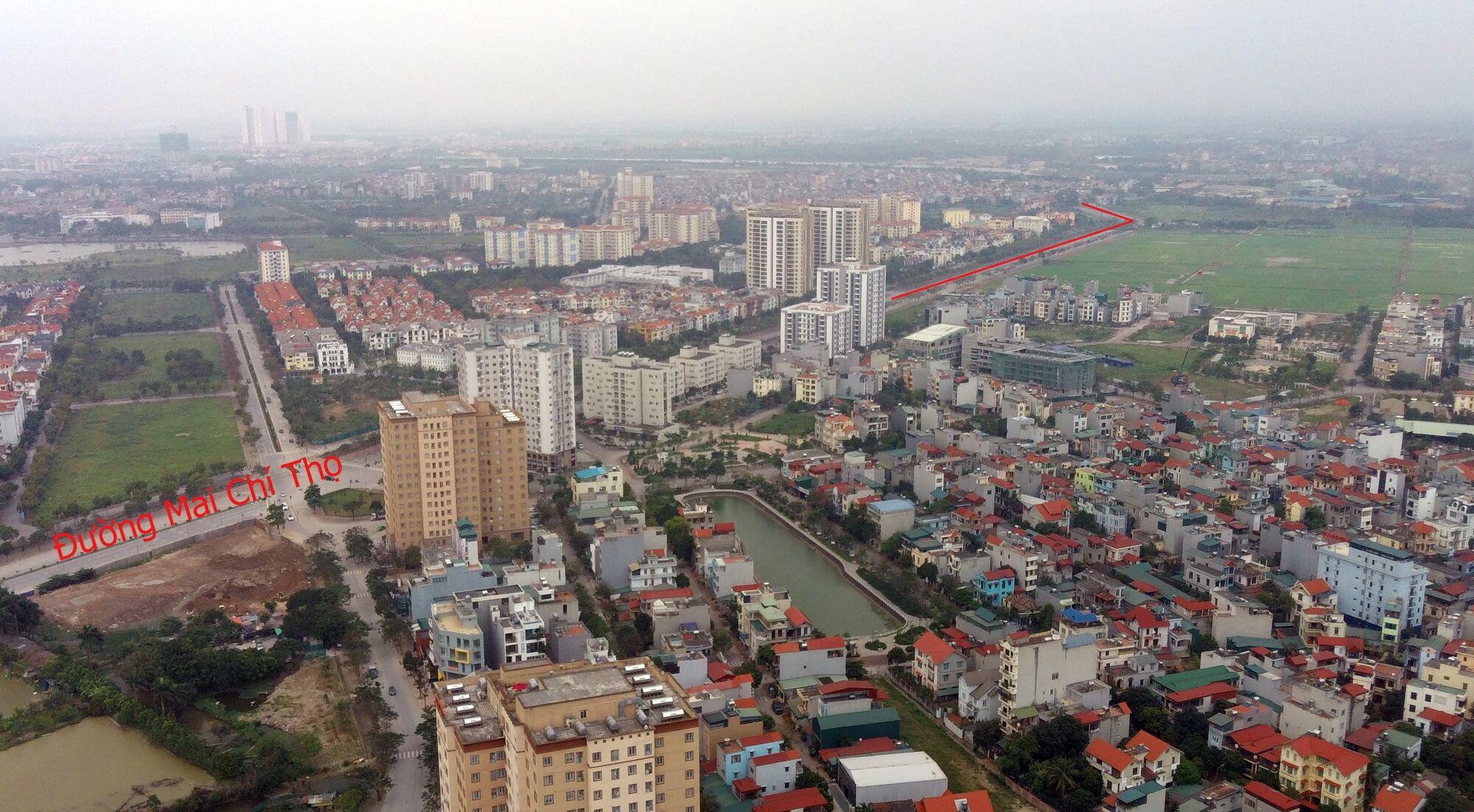 Hình ảnh đường Mai Chí Thọ.
