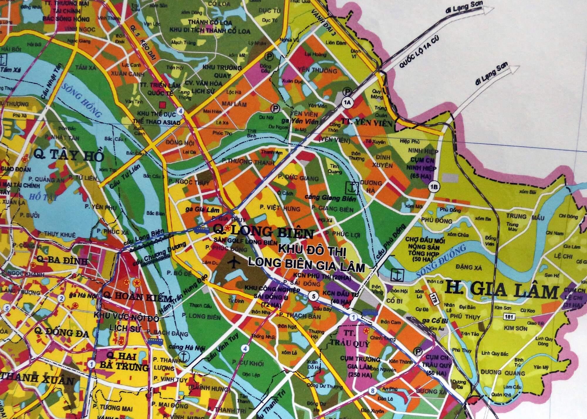 Hiện cầu Đuống cũ đang giới hạn tải trọng nên áp lực giao thông đang dồn lên cầu Thanh Trì.