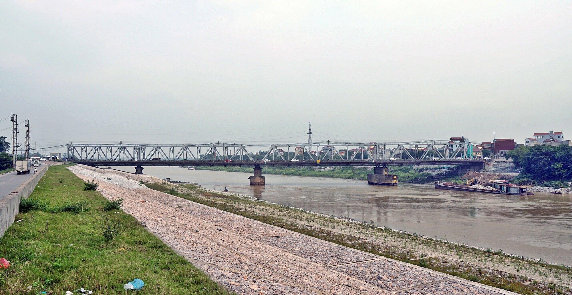 Cầu Đuống hiện tại nhìn từ một góc xa.