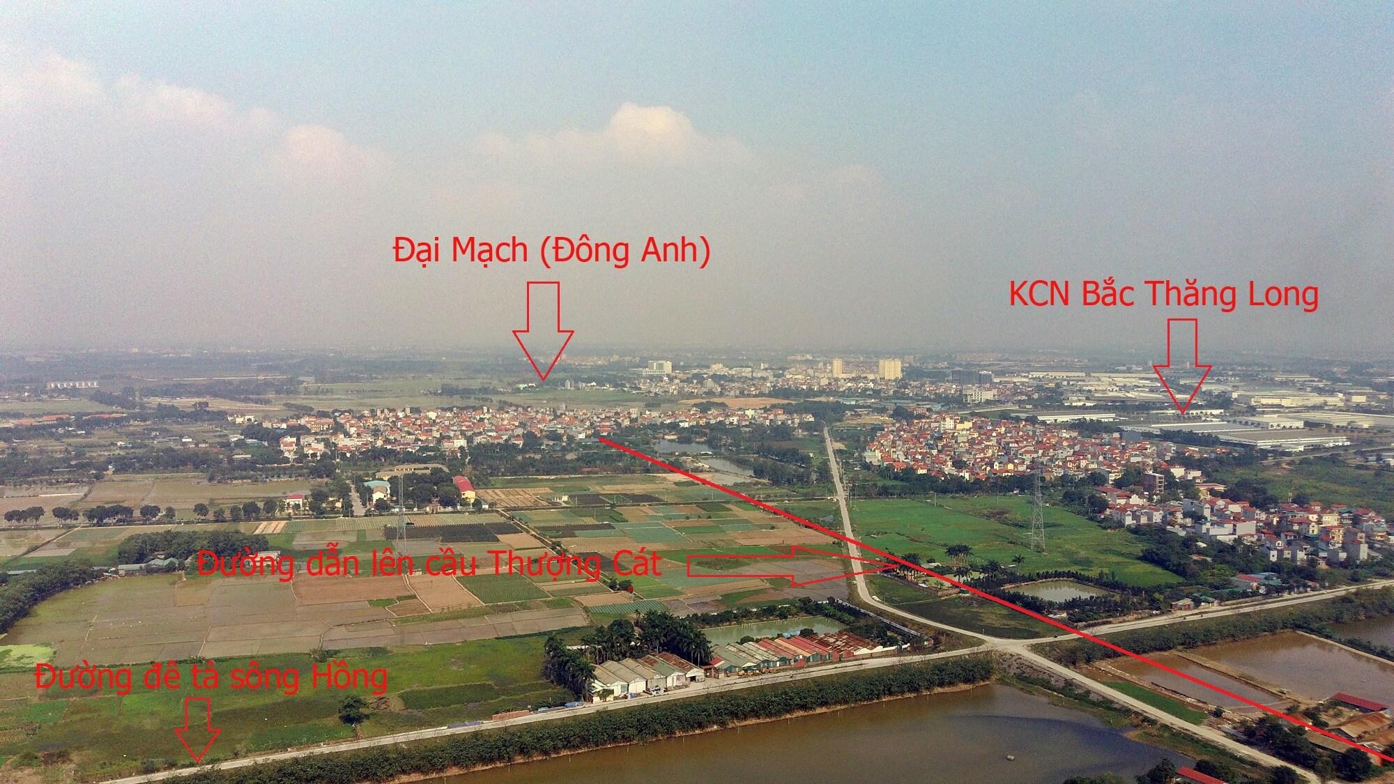 Theo đó, cầu Thượng Cát sẽ kết nối giao thông giữa đường vành đai 3,5 đến đường Hoàng Sa.