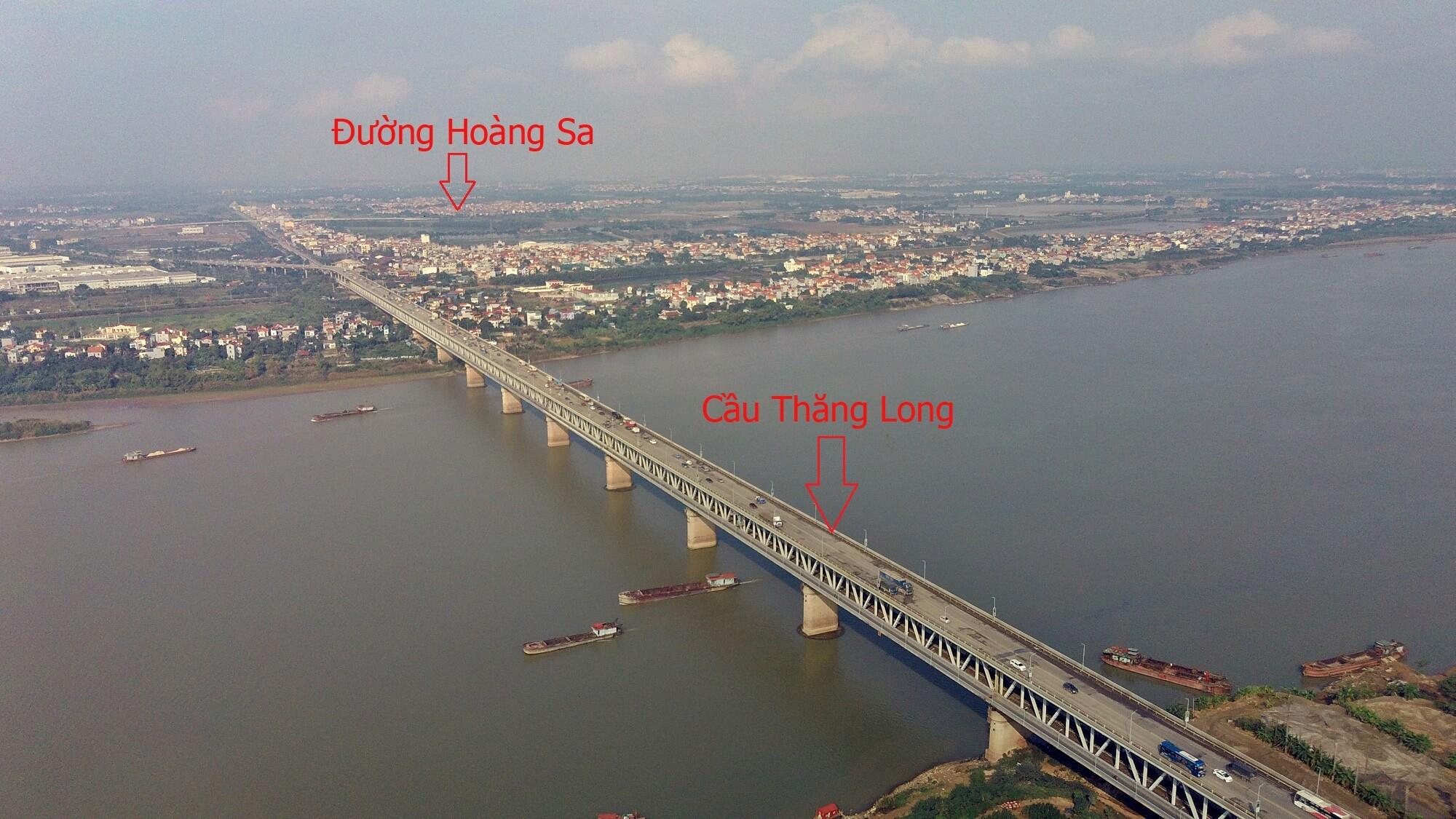 Nhờ có cầu Thượng Cát, người dân không cần đi qua cầu Thăng Long khi di chuyển giữa quận Bắc Từ Liêm và Đông Anh, Mê Linh.
