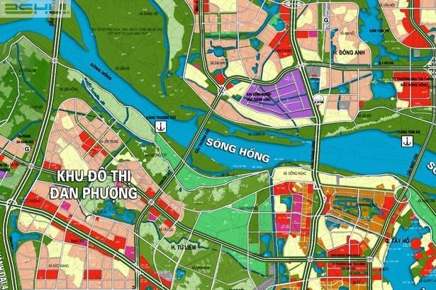 Đường vành đai 3,5 sẽ tiếp nối cầu Thượng Cát đi vào trung tâm Hà Nội.