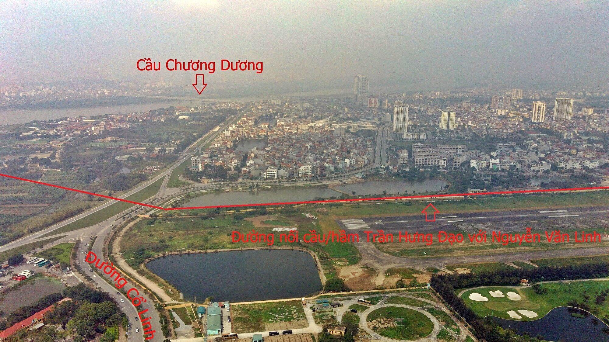 Hầm/cầu Trần Hưng Đạo có kết nối trực tiếp với đường Nguyễn Văn Linh.