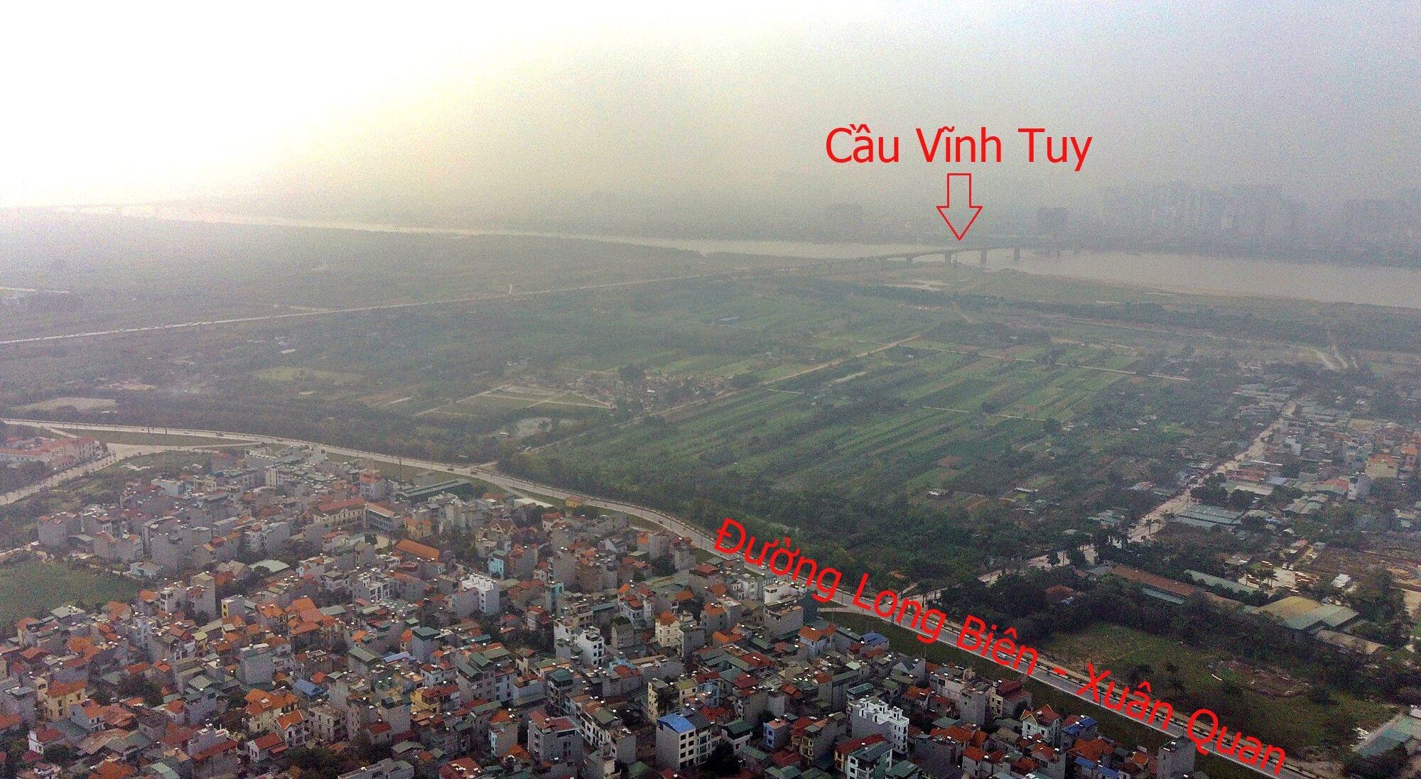 Hầm/cầu Trần Hưng Đạo cũng nằm gần với cầu Vĩnh Tuy.