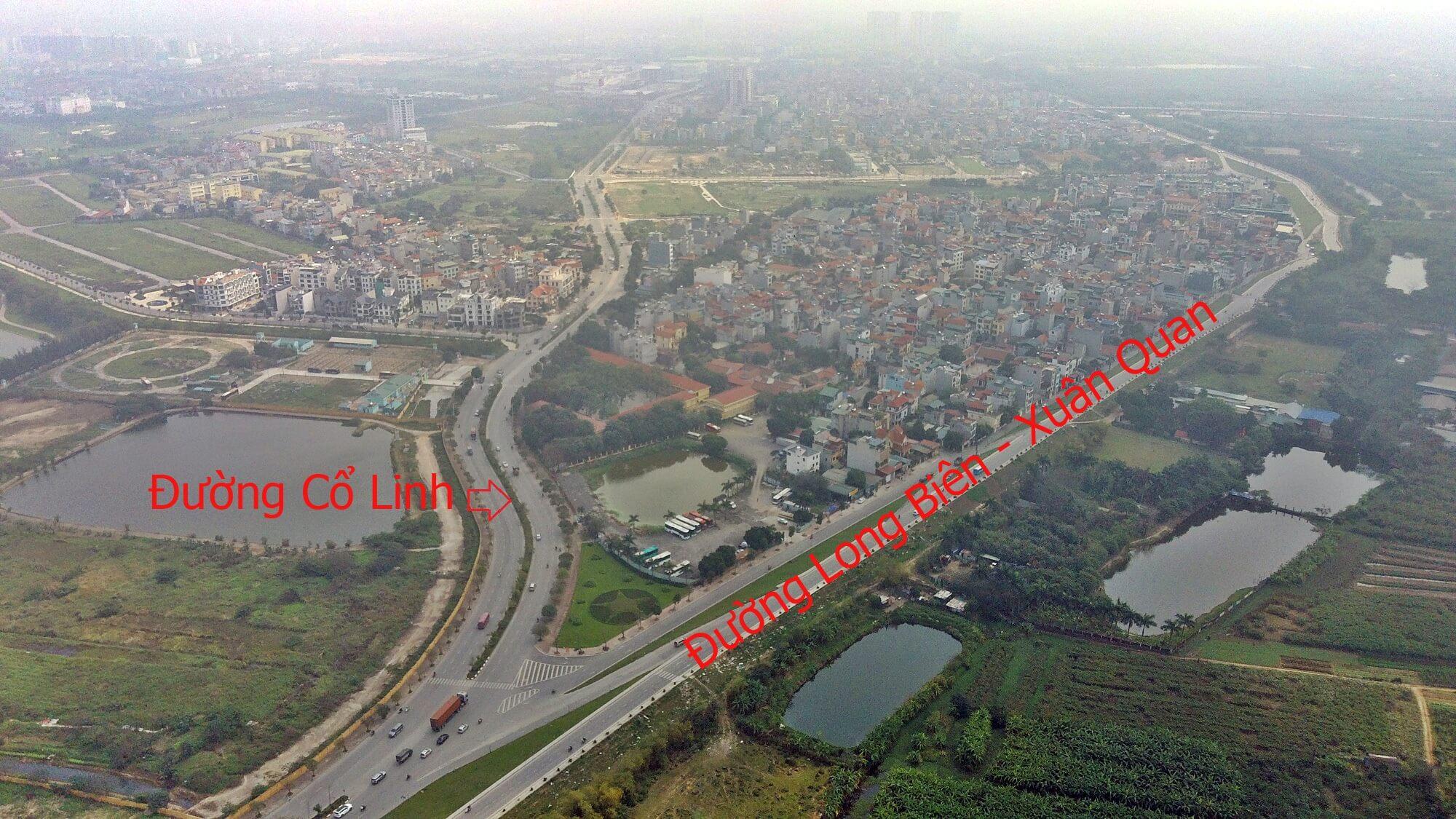 Từ nút giao hầm/cầu Trần Hưng đạo với Cổ Linh, người dân có thể đi về phía Aeon Mall Long Biên, đường Xuân Quan về phía cầu Thanh Trì, Vĩnh Tuy.