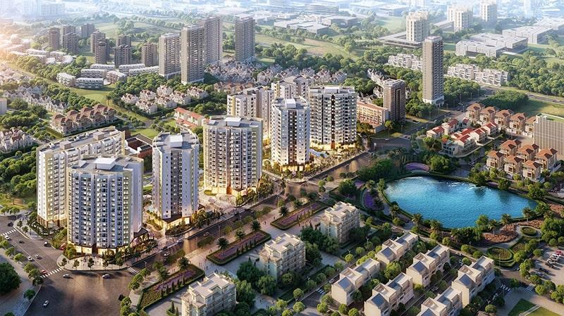 Chung cư Le Grand Jardin Sài Đồng.
