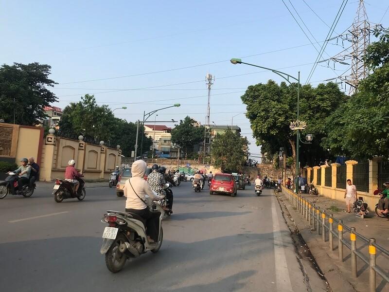 Đường Trần Hưng Đạo - Hà Nội.