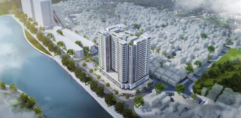 Phối cảnh NOXH Rice City Thượng Thanh.