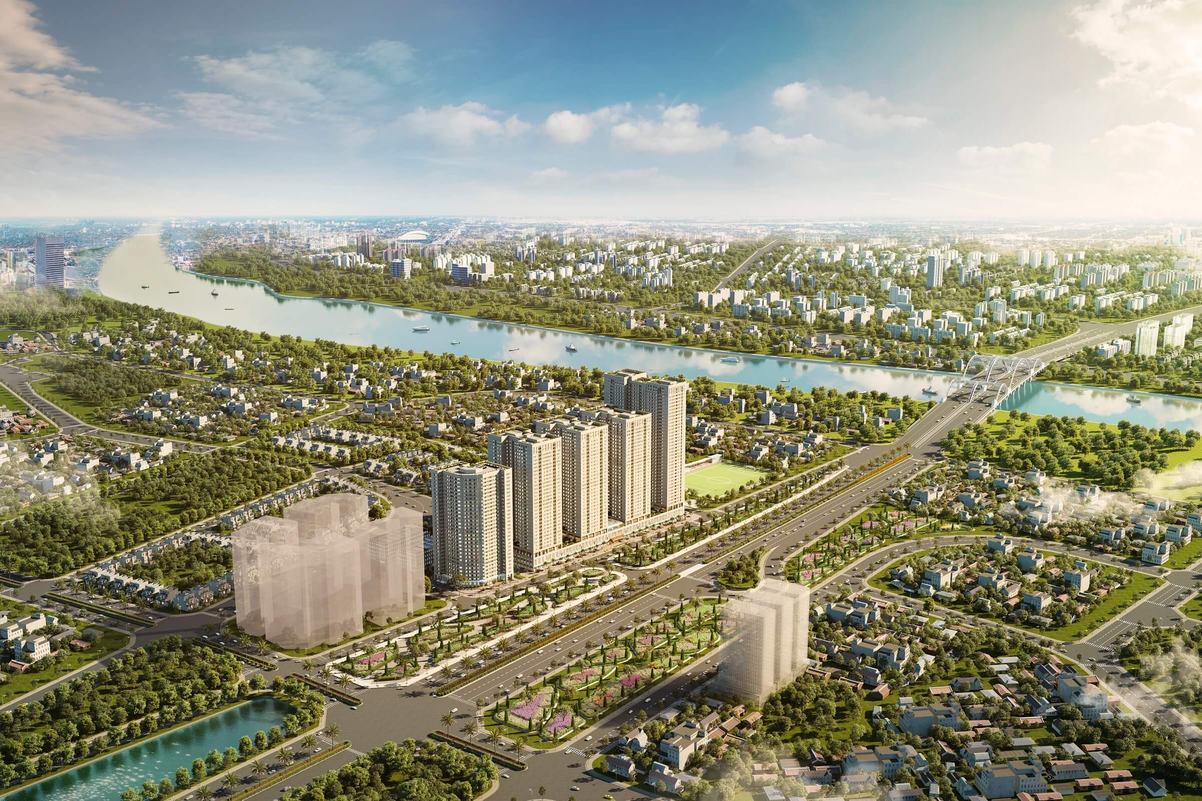 Eurowindow là chủ đầu tư uy tín với nhiều dự án lớn như Eurowindow River Park.