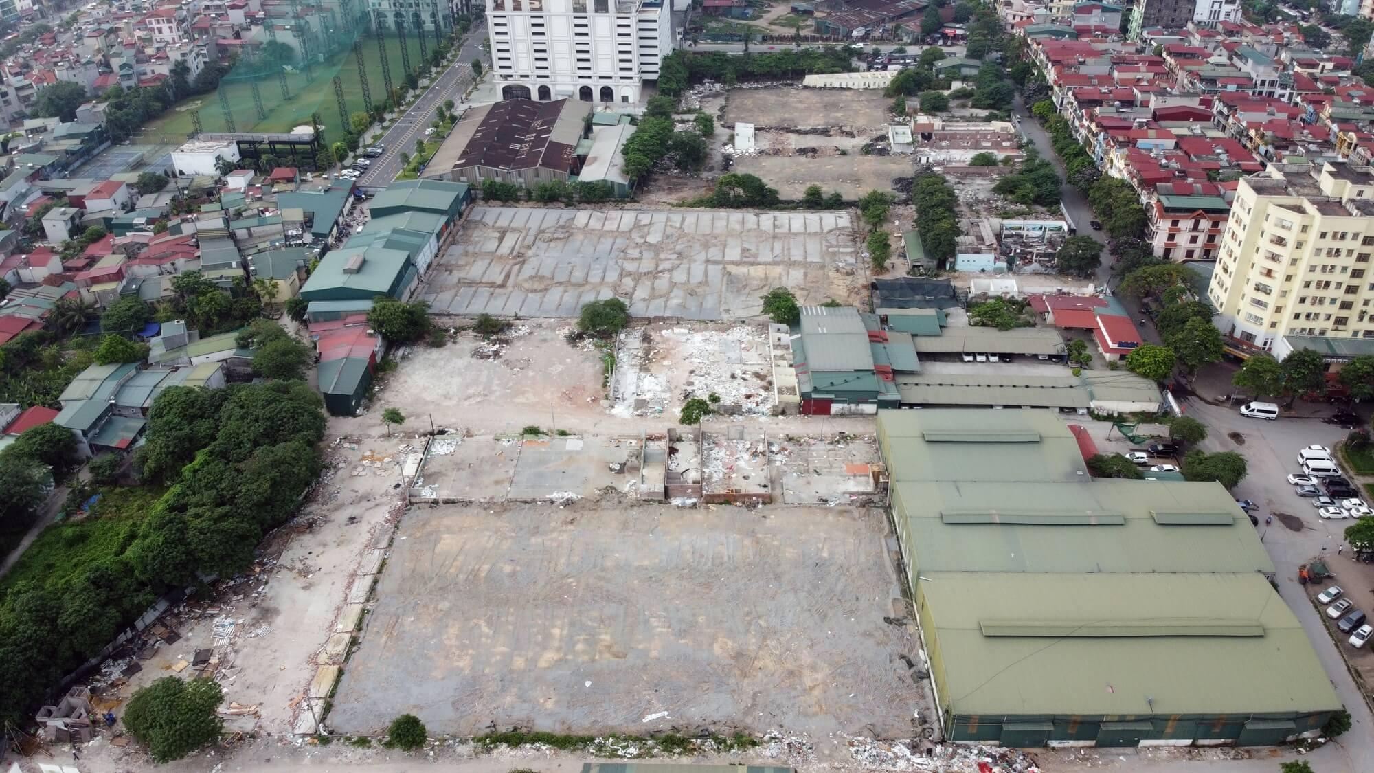 Theo tổng thể quy hoạch, vị trí lô đất thuộc phường Đại Kim, Thịnh Liệt, Hoàng Mai.