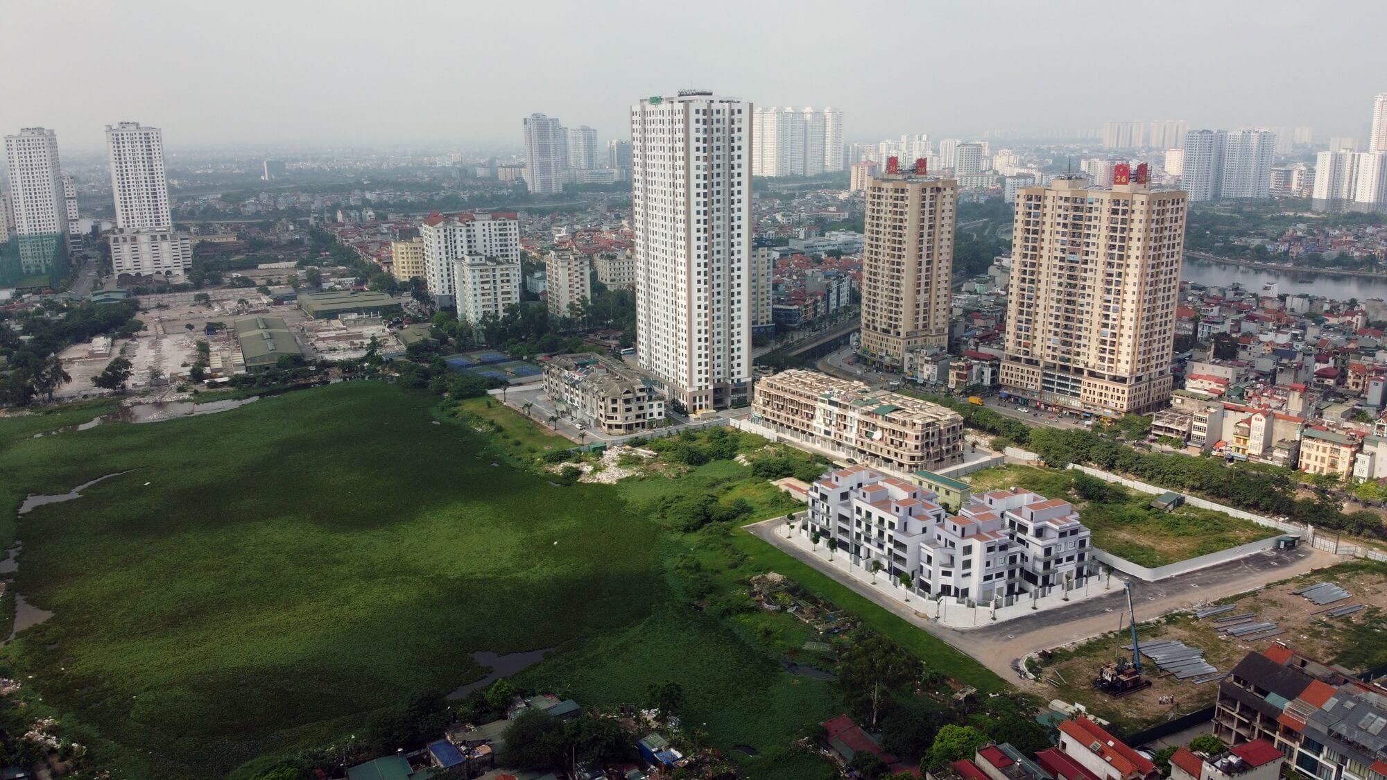 Toàn cảnh khu đất dự kiến xây dựng Aeon Mall Hà Đông.