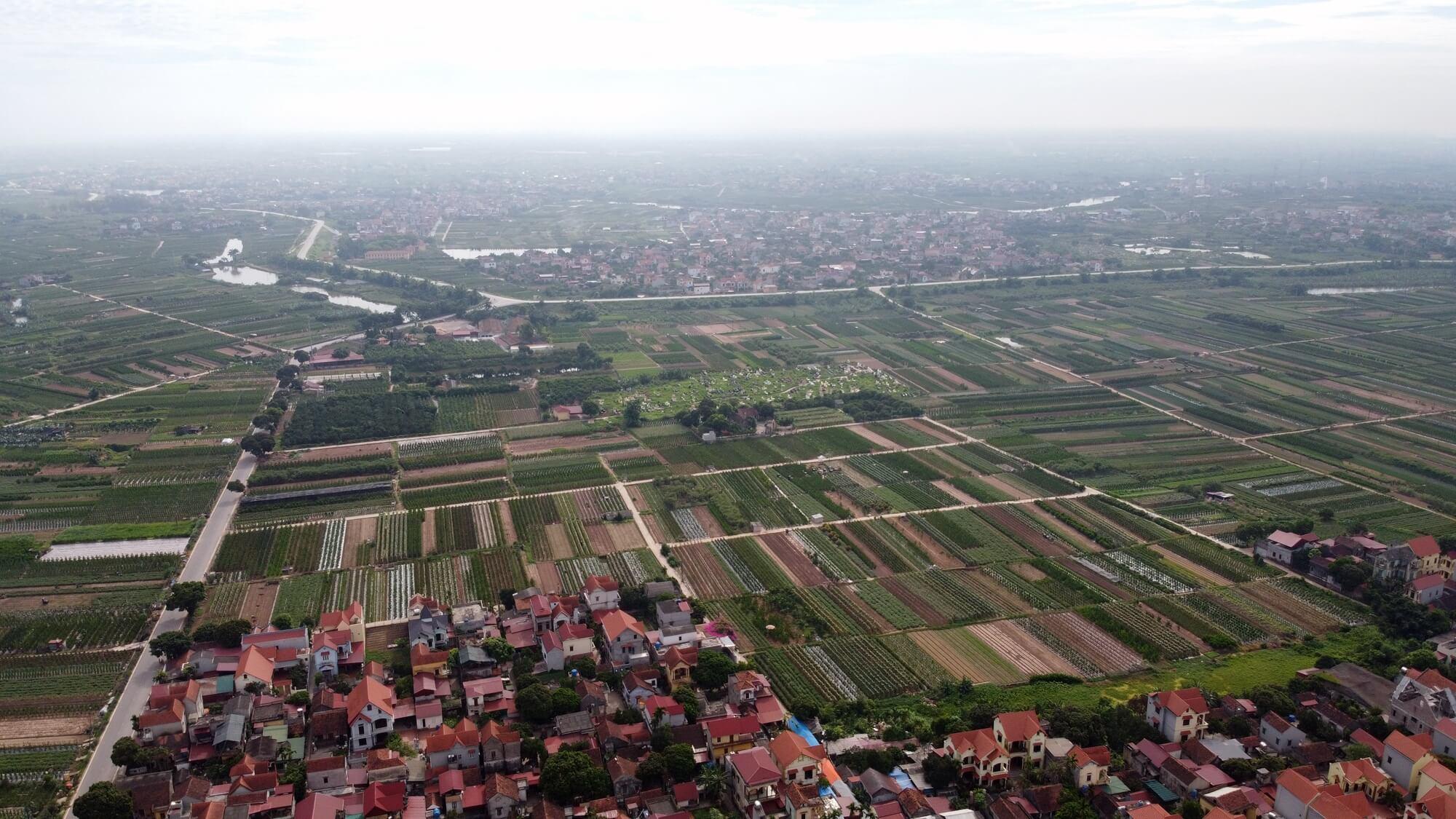 Đường vành đai 4 trên địa bàn tỉnh Hưng Yên sẽ cắt qua đường 378, 379 và cắt vào cao tốc Hà Nội - Hải Phòng.
