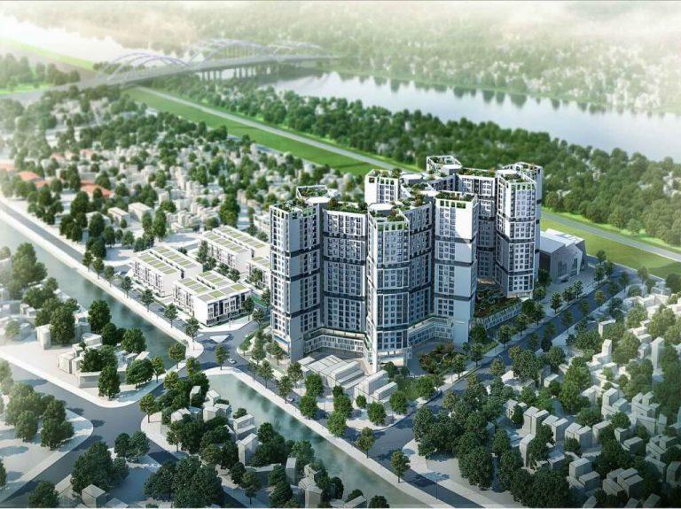 Dự án chung cư, shophouse, liền kề nhà máy hóa chất Đức Giang.