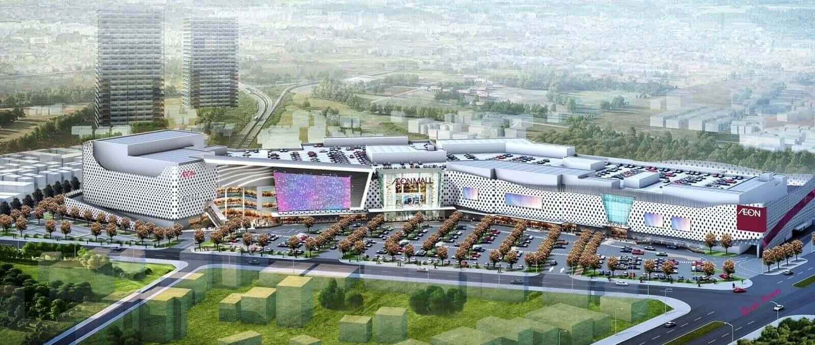 Aeon Mall đã có nhiều đại siêu thị tại Việt Nam.