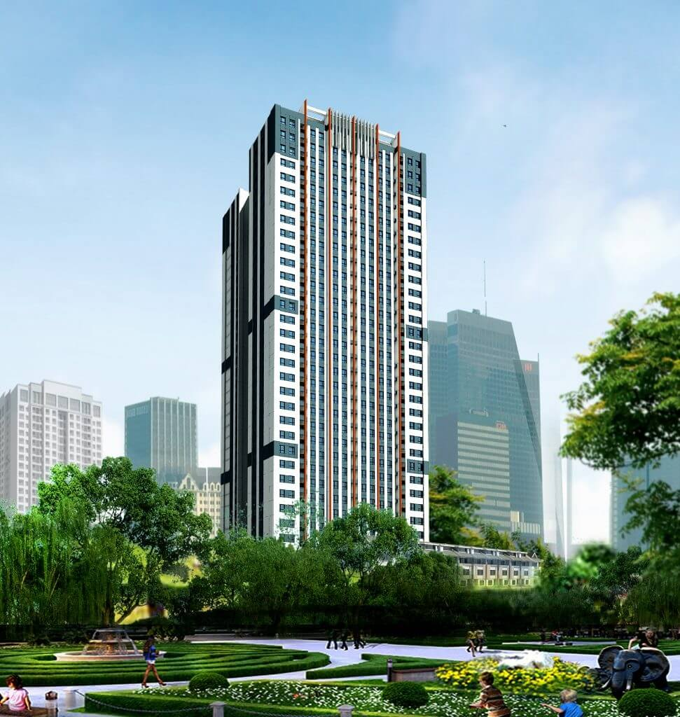 Chung cư Smile Building.