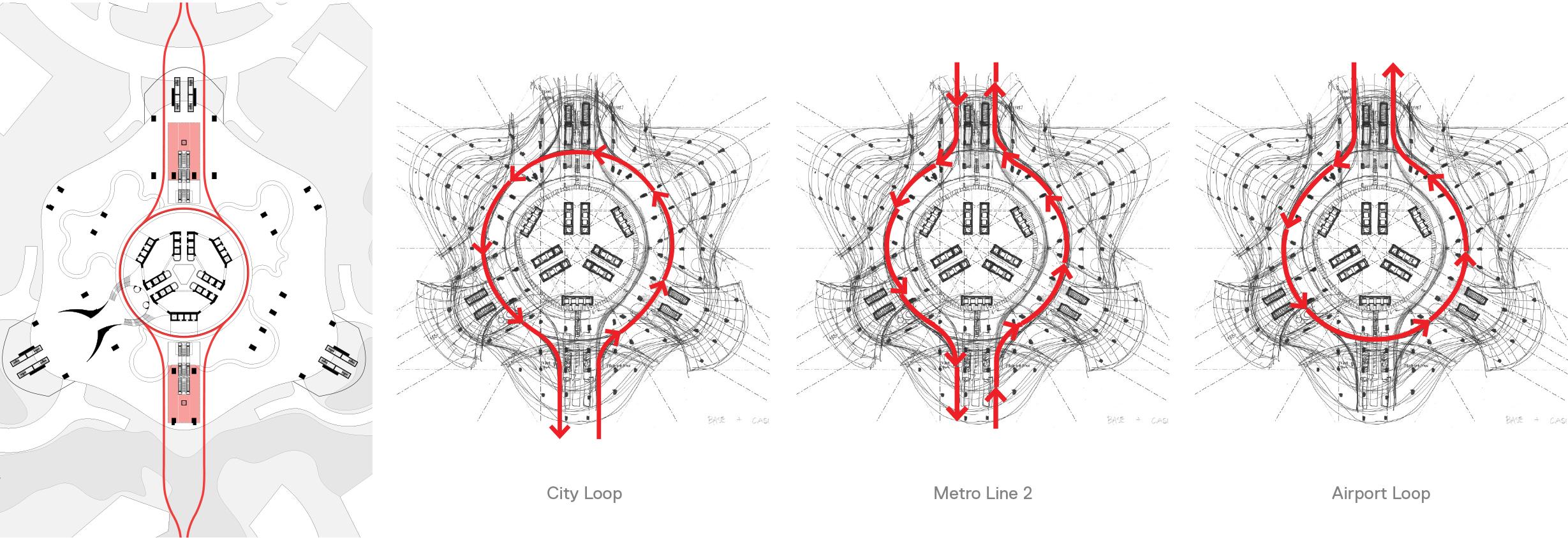 Mặt cắt thiết kế của Phương Trạch Tower.