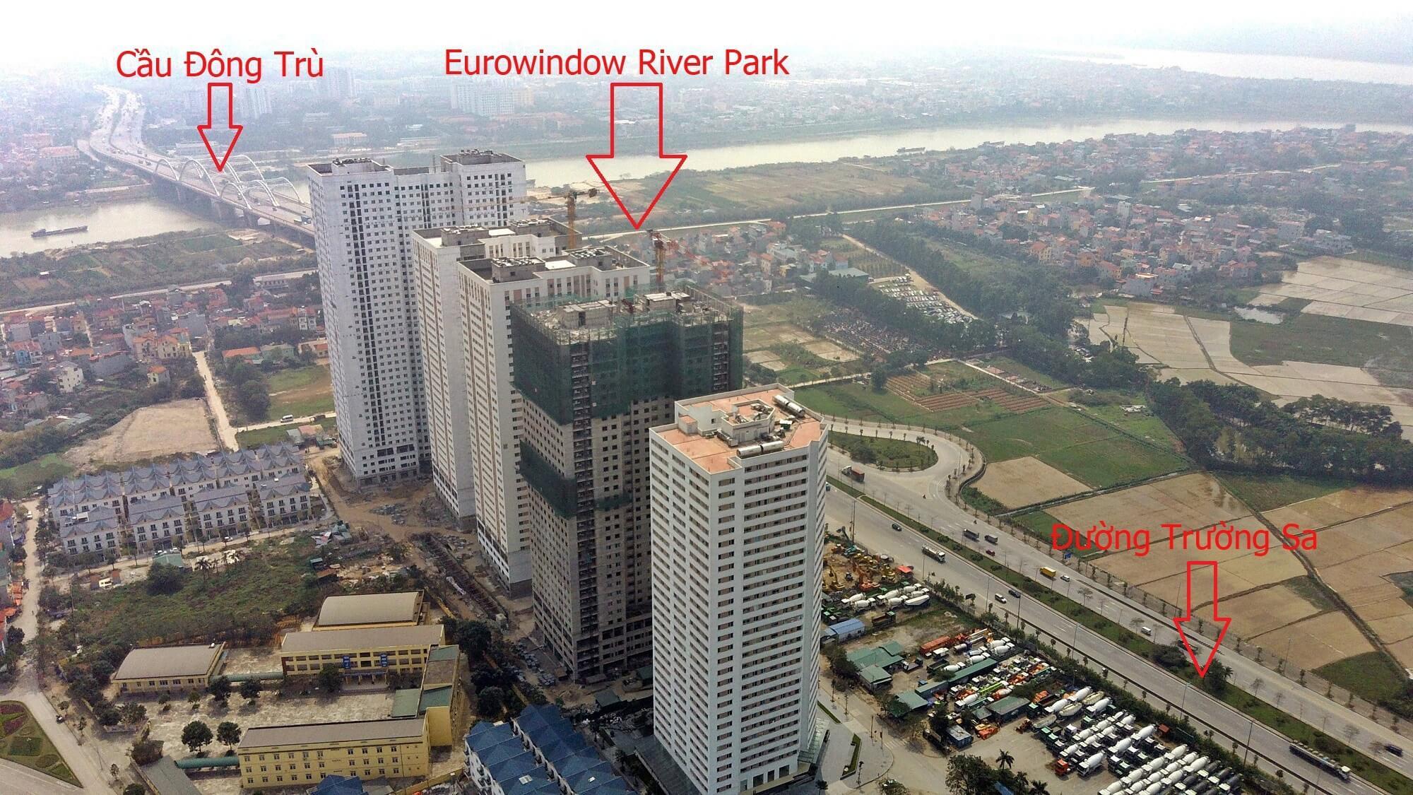Cận cảnh tiến độ dự án Eurowindow River Park.