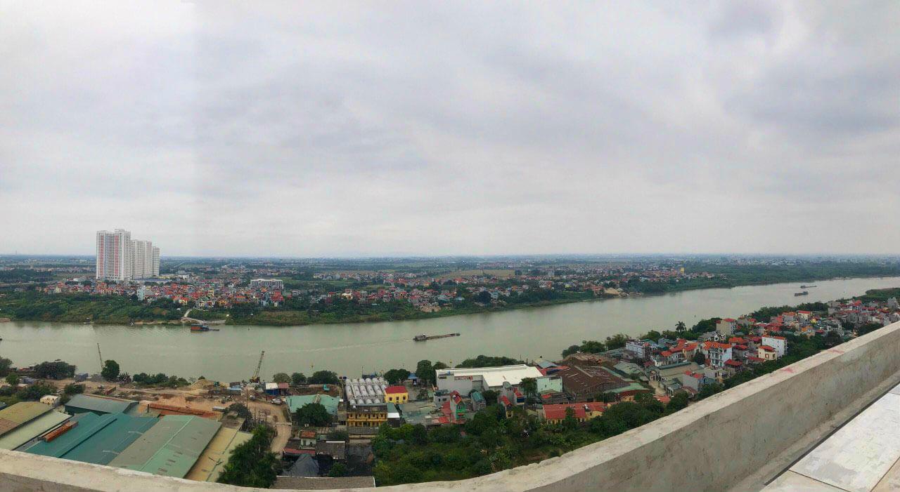 View sông cực đẹp từ căn hộ AQH Riverside.