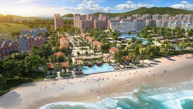 Khu Little Huế tại Wonder City Vân Phong Bay.
