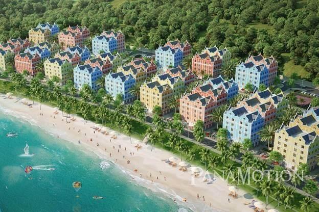 Boutique Hotel ở phân khu Barbados - Wonder City vân Phong Bay.