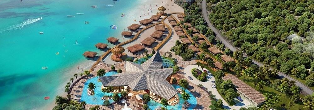 Các Resort ven biển tại Wonder City Vân Phong Bay.