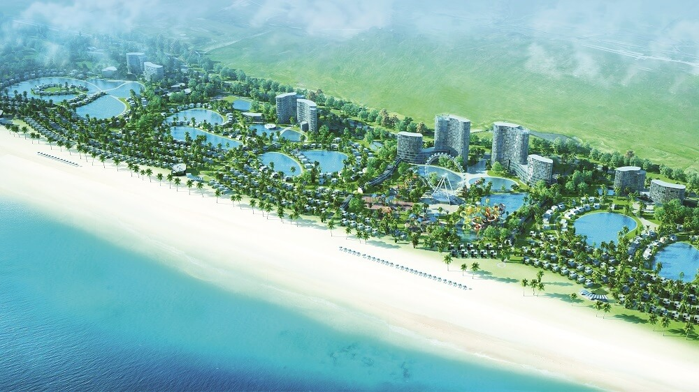 Phối cảnh dự án Quảng Xuân Luxury.