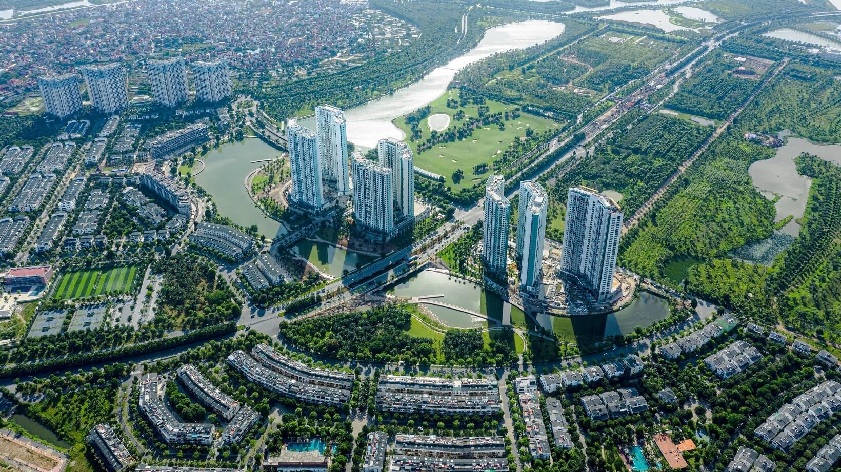 Khu đô thị xanh Eco Park.