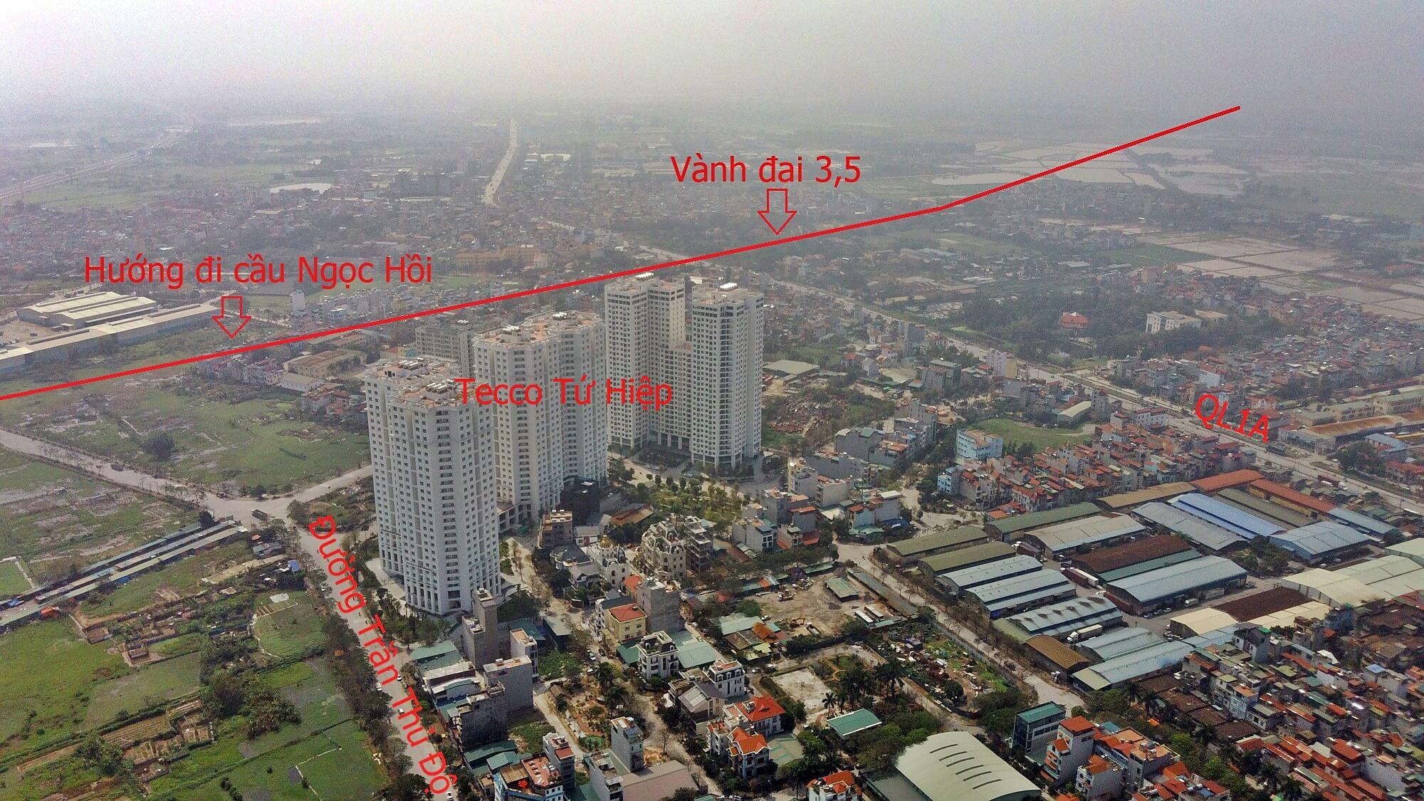 Tecco Thanh Trì là dự án hường nhiều lợi thế từ quy hoạch đường vành đai 3,5 và cầu Ngọc Hồi.