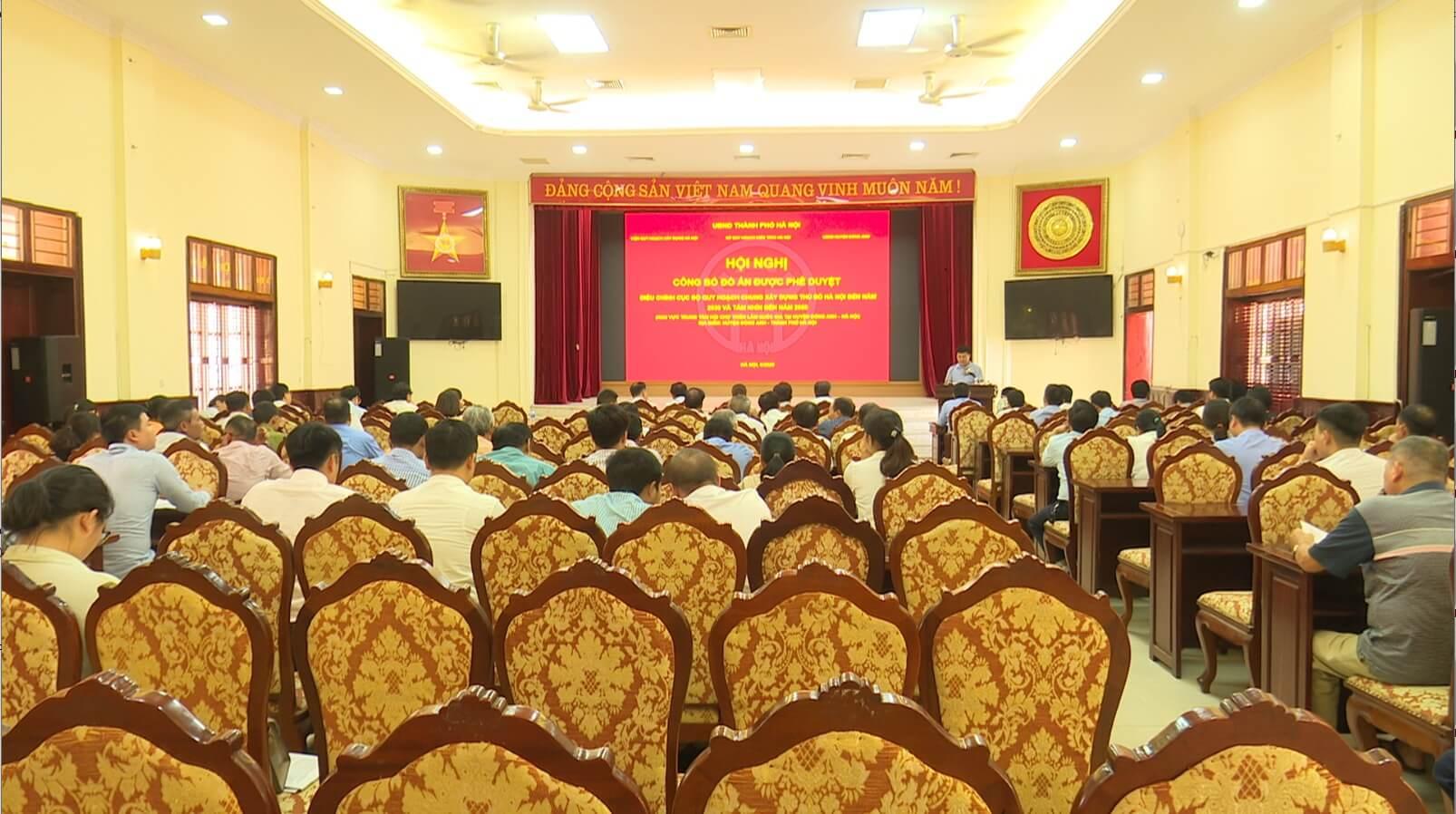 Lễ công bố phê duyệt quy hoạch trung tâm triển lãm quốc gia.