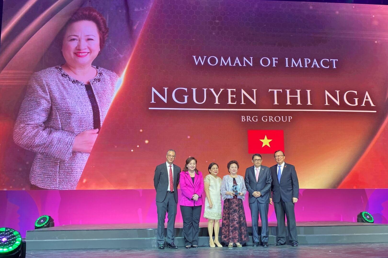 Bà Nguyễn Thị Nga - Chủ tịch tập đoàn BRG.