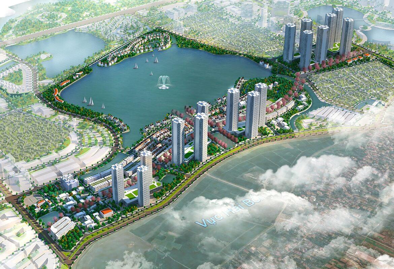 Thành phố thông minh là điểm nhấn phía Bắc thủ đô Hà Nội.