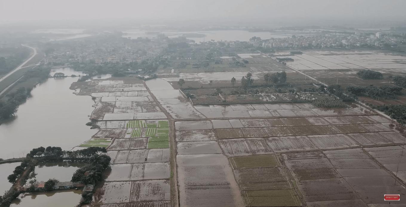 Có rất nhiều hồ nước trong quy hoạch của dự án thành phố thông minh.