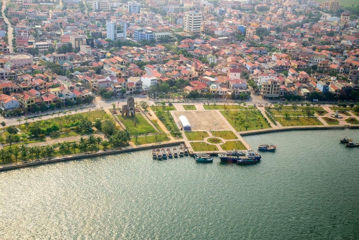 Eurowindow Grand City sở hữu vị trí trung tâm Quảng Bình.