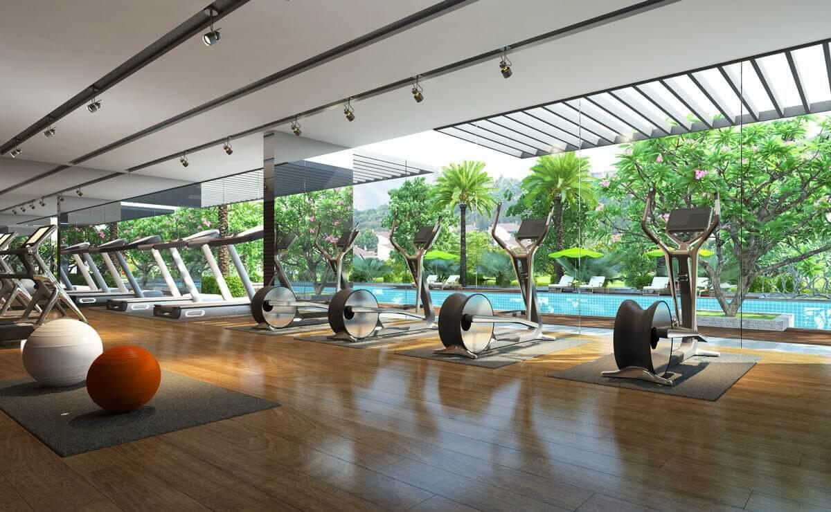 Phòng Gym - X2 Đại Kim.