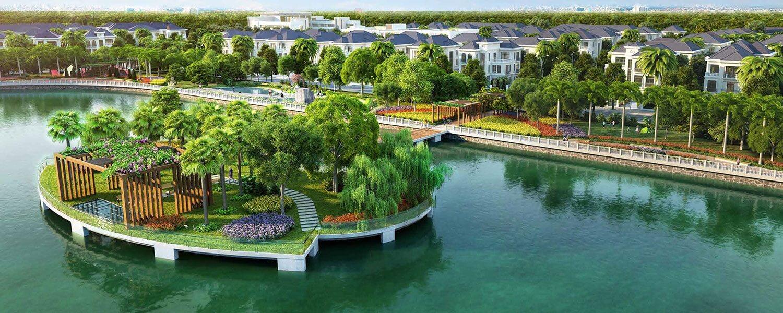 Hateco Kim Chung Đông Anh là khu đô thị xanh quy mô hàng đầu khu vực.