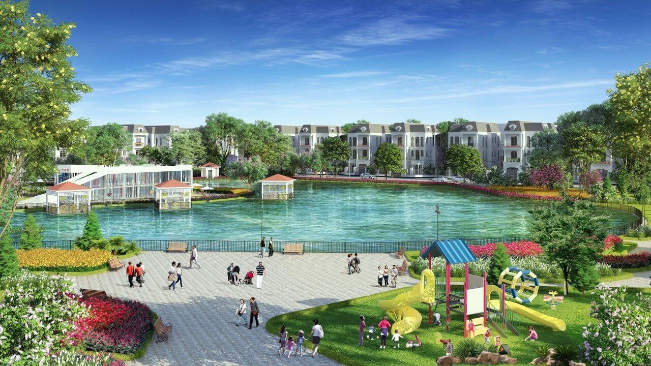 Kosy Complex Đông Anh Hà Nội có không gian sống trong lành, tiện ích đa dạng tuyệt vời.