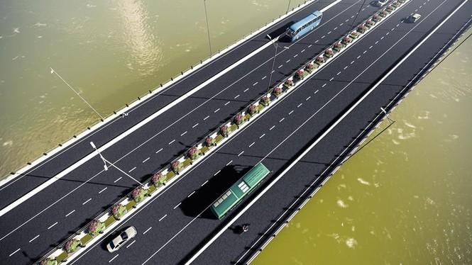 Cầu Vĩnh Tuy 2 sẽ có 4 làn đường.