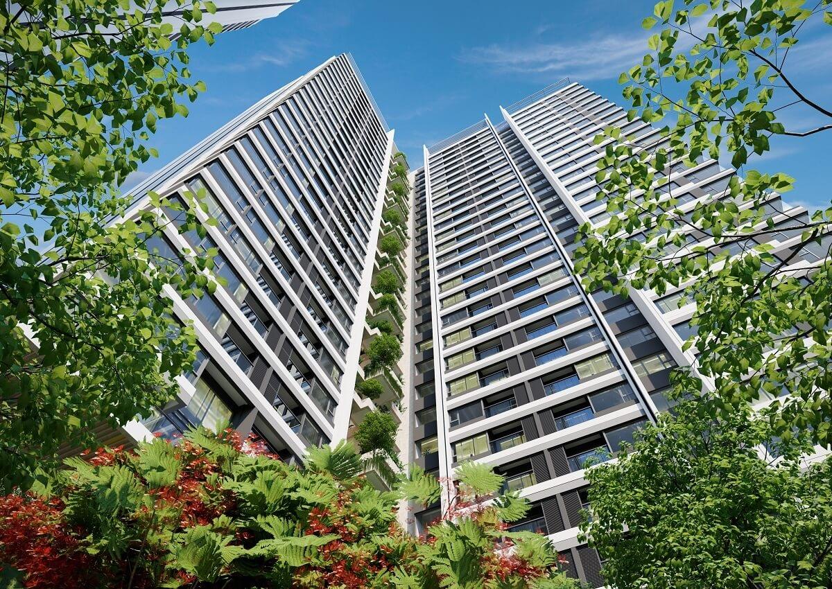 Phối cảnh dự kiến dự án chung cư nhà ở xã hội ( NOXH ) Bảo Ngọc City.