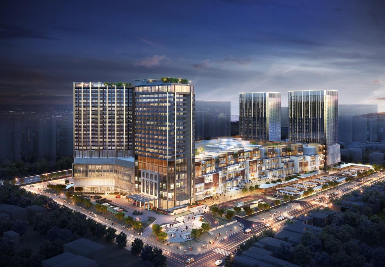 Lotte Mall Hà Nội sẽ có nhiều hạng mục như TTTM, căn hộ dịch vụ và còn có thể cả căn hộ chung cư cao cấp.