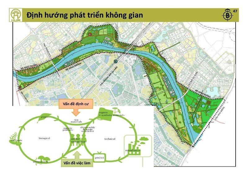 Vinpearl Hà Nội nằm trên địa bàn quận Long Biên và huyện Gia Lâm.