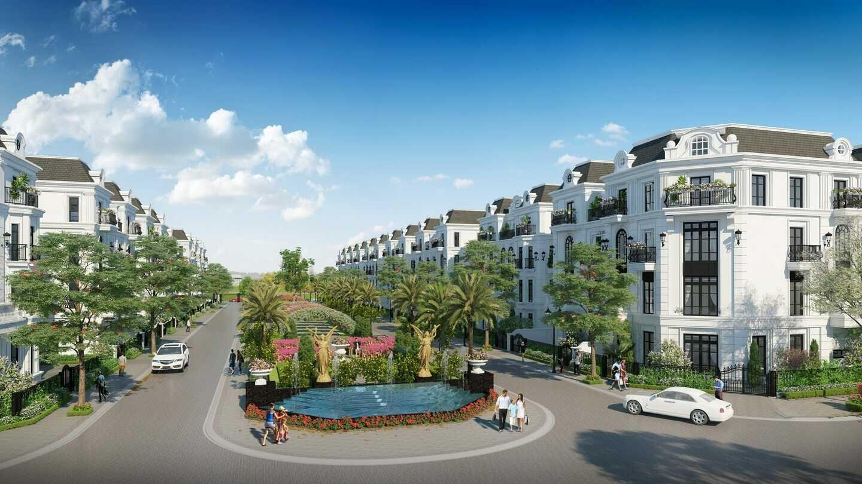 Phân khu thấp tầng sẽ có các lô shophouse và liền kề cao cấp.