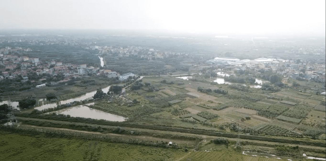 Tới đây, mảnh đất này sẽ hiện diện một đại đô thị lớn tầm cỡ khu vực.