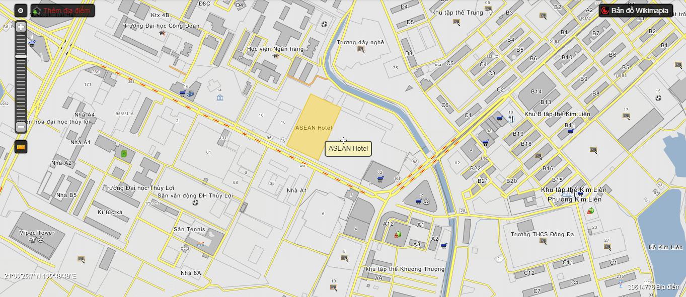 Hà Nội Orchard Park nằm ở số 6 - 8 Chùa Bộc.